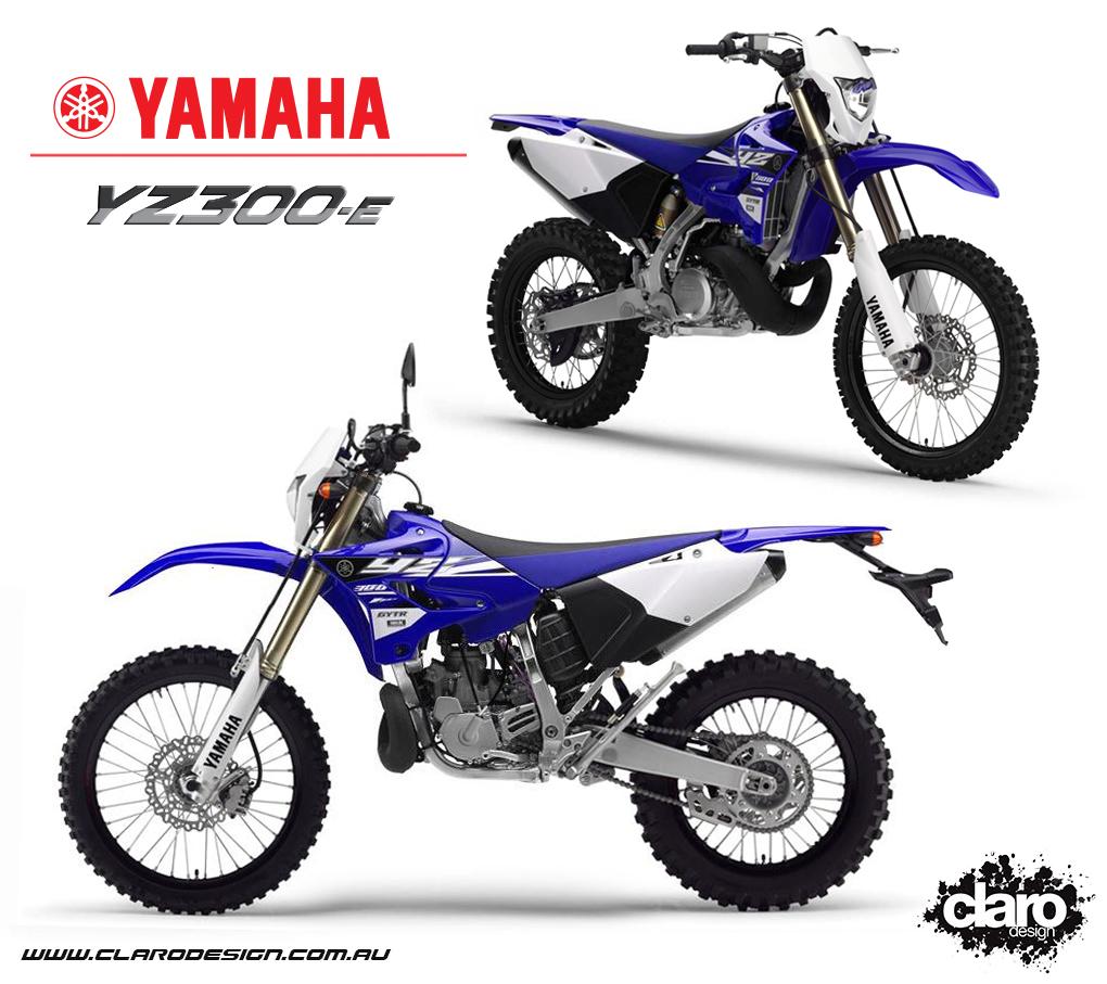 Yamaha YZ300-E Concept