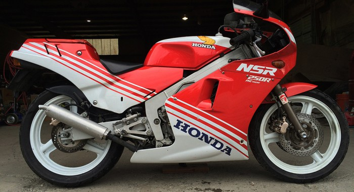 Stu's 1986 Honda NSR250R MC16