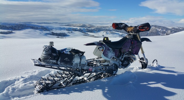 Wallace's CR500 Snow Weapon