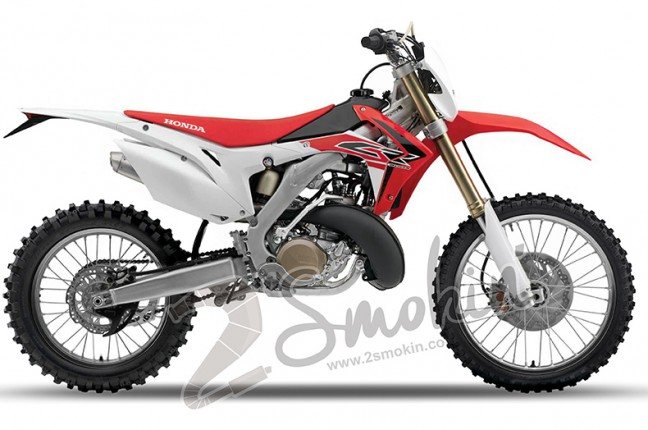 the honda cr300 x direct injected concept 2 smokin
