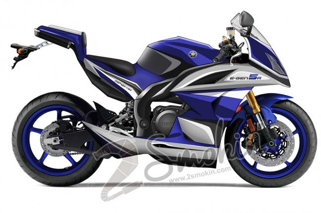 Yamaha e gen5 2 stroke road bike concepts 2 smokin for Yamaha road motorcycles
