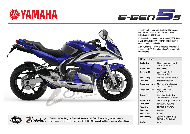 Yamaha E-Gen5S Concept