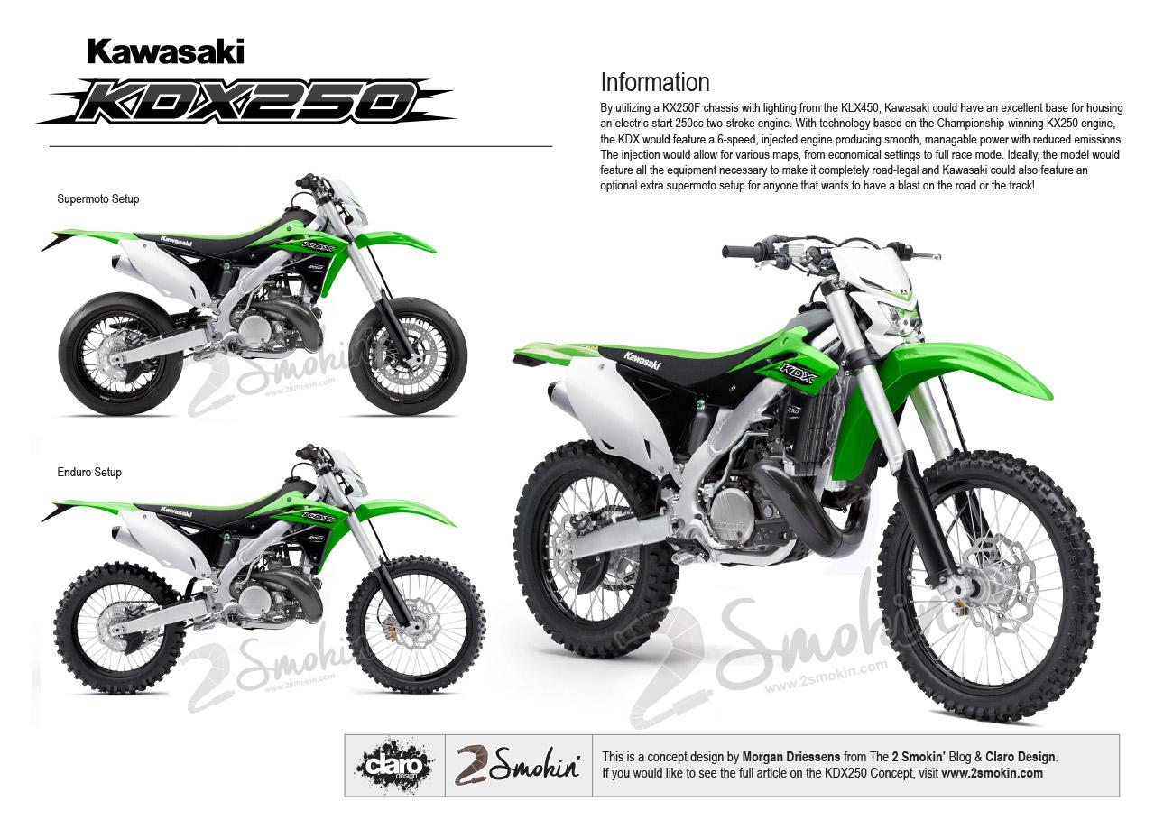 Kawasaki KDX250 Injected Concept