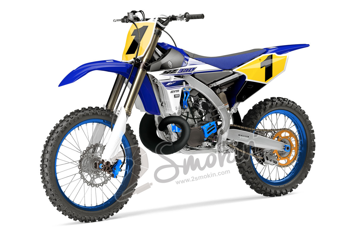 Yamaha yz390 injected mock up 2 smokin 39 passion for 2 for Yamaha 2 stroke