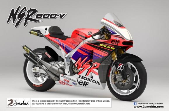 The Honda NSR800V Concept
