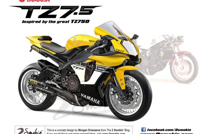 The Yamaha TZ7.5 Concept