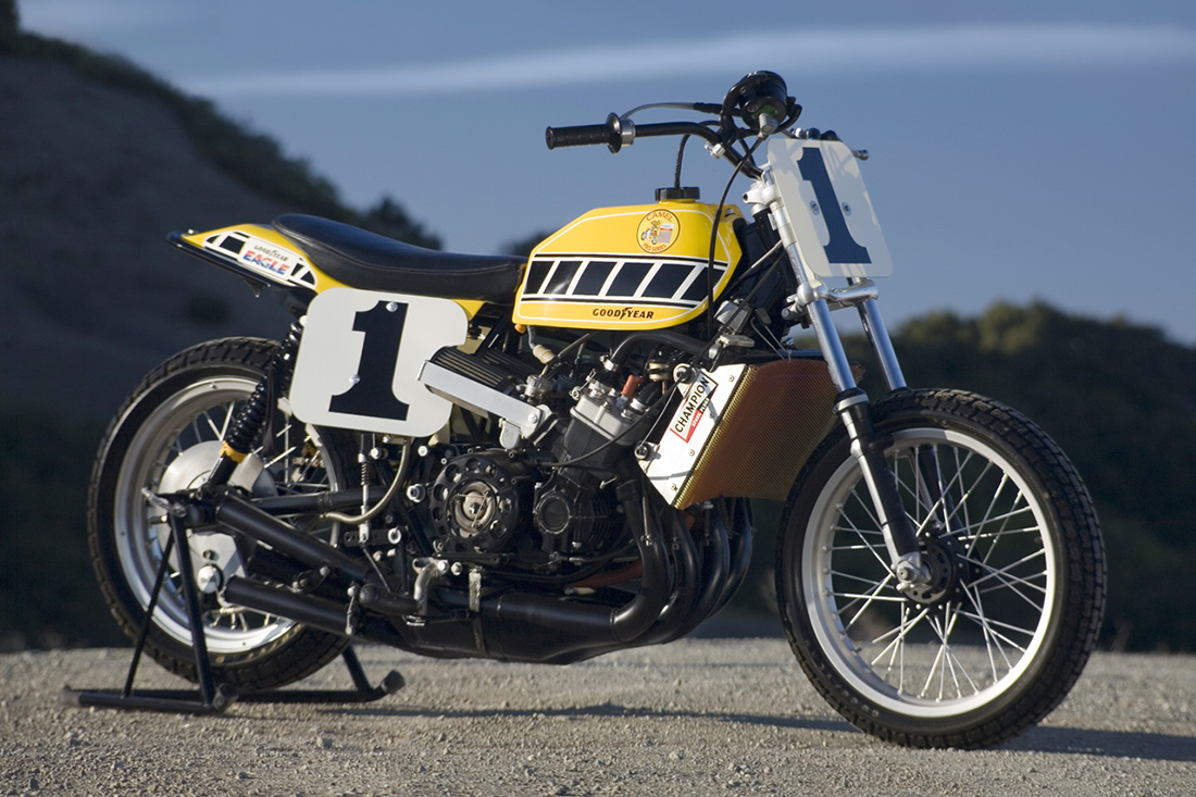Kenny Robert's TZ750 Dirt-Tracker