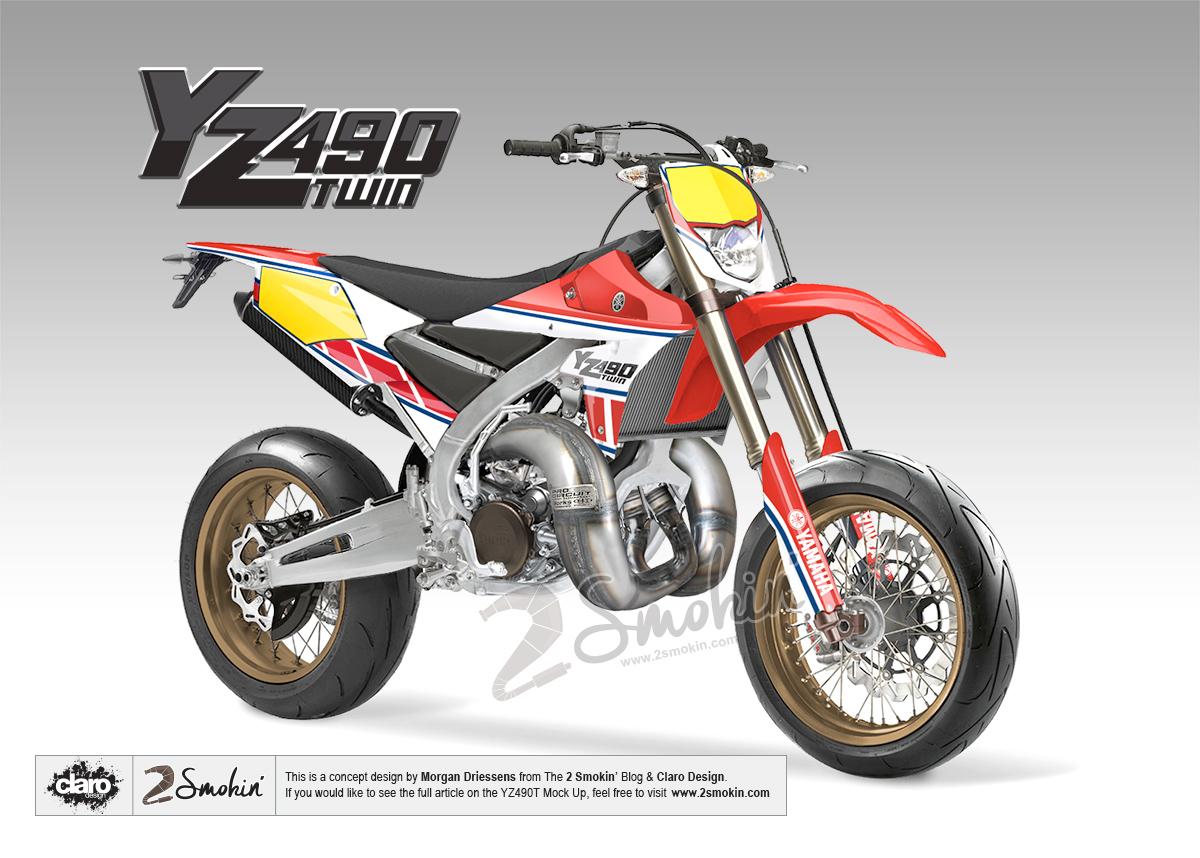 Yamaha YZ490 Twin