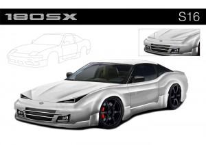 Nissan 180SX Concept Car